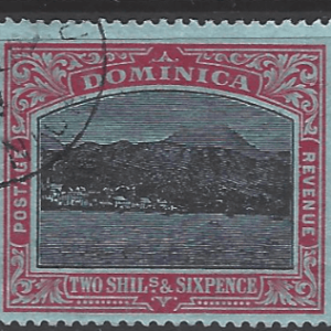 SG 53c, Dominica Stamps