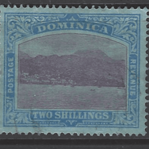 SG 69, Dominica Stamps