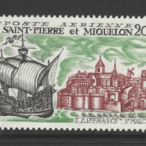 SG 468, Unmounted Mint. St Pierre et Miquelon Stamps