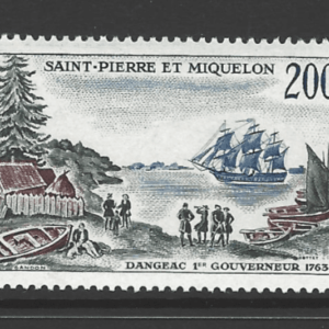 SG 427, Unmounted Mint, St Pierre et Miquelon Stamps