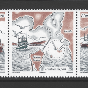 SG 1045a, Unmounted Mint, St Pierre et Miquelon Stamps