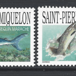 SG 760-3, Unmounted Mint, St Pierre et Miquelon Stamps