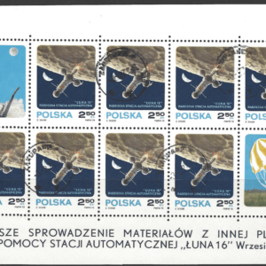 SG 2021, Sheetlet, Poland Stamps