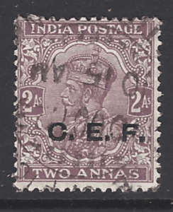 SG C27 China expeditionary Force, India Stamps