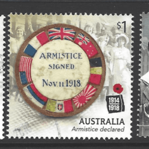 SG New Issue-Centenary of WW1. Australia Stamps