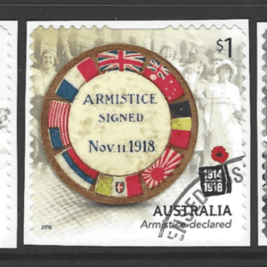 SG New Issue- Centenary of WW1, Self Adhesive. Australia Stamps