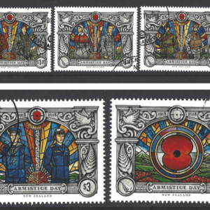 SG Armistice Day 2018 Set. New Zealand Stamps.