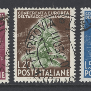 SG 755-7. Italy Stamps