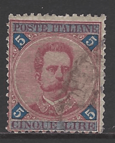SG 61. Italy stamps
