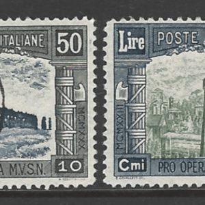 SG 278-281. Italy Stamps