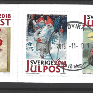 SG New Issue- Christmas. Sweden Stamps
