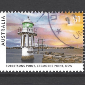 SG New Issues- Lighthouses. Australia Stamps