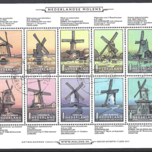 SG 3013a Sheetlet. Netherlands Stamps