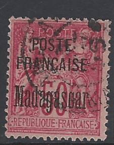 SG 20. French Pos in Madagascar. French Colonies Stamps