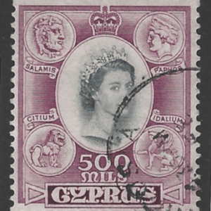 SG 186. Cyprus Stamps