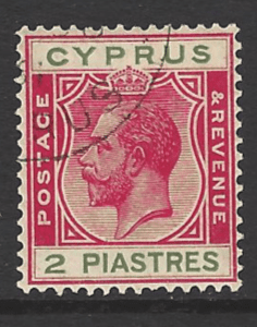 SG 108. Cyprus Stamps
