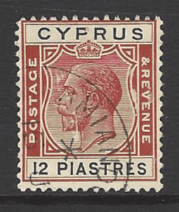 SG 114. Cyprus Stamps