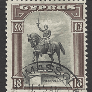 SG 130. Cyprus Stamps