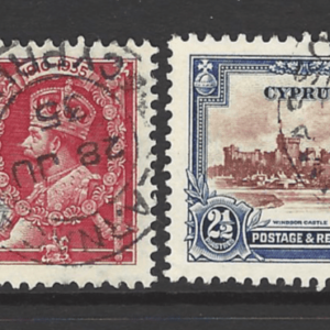 SG 144-147. Cyprus Stamps