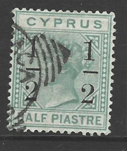 SG 28. Cyprus stamps
