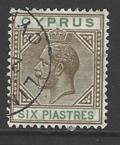 SG 96.. Cyprus Stamps