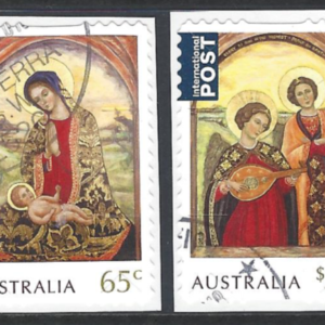 SG New Issue, Christmas 2018. Self Adhesive. Australia stamps