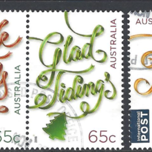 SG New Issue. Christmas 2018, Australia Stamps