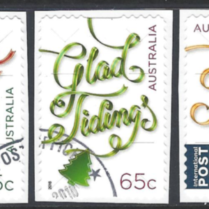 SG New Issue. Australia, Christmas Stamps 2018