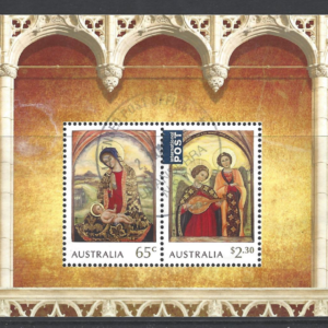SG New Issue 2018. Christmas Australia Stamps