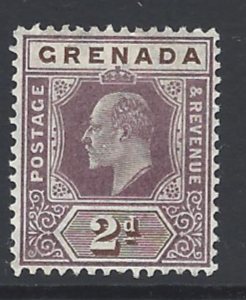 SG 69. Mounted Mint. Grenada Stamps
