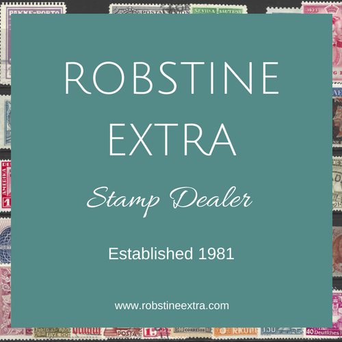 Robin Borwick, Robstine Extra-Fine Used Stamp Dealer UK,