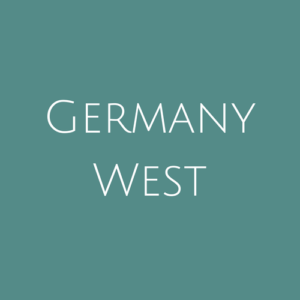 Germany West fine Used Stamps