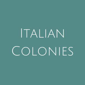 Italian Colonies fine Used Stamps