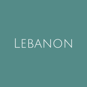 Lebanon fine Used Stamps