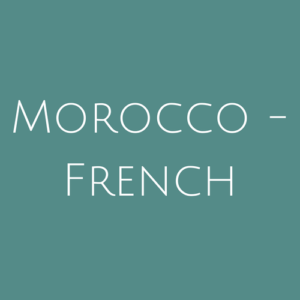 Morocco - French fine Used Stamps