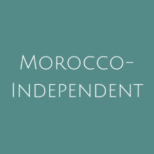 Morocco- Independent fine Used Stamps