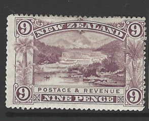 SG 256. Heavily Mounted. New Zealand Stamps