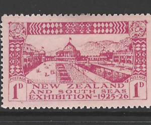 SG 463-5. Mounted Mint. New Zealand Stamps