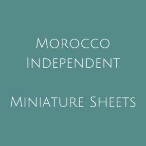 Morocco Independent- Miniature Sheets