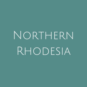 Northern Rhodesia fine Used Stamps