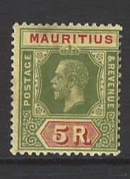 SG 240, Mounted Mint. Mauritius Stamp