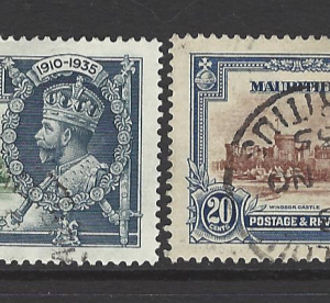 SG 245-8, Mauritius Stamps