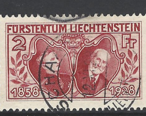 SG 90, Liechtenstein Stamp