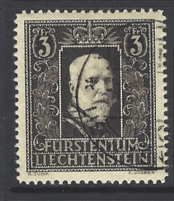 SG 174, Liechtenstein Stamp
