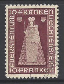 SG 200, Liechtenstein Stamp