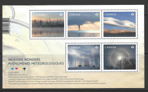 SG MS3428. Canadian Stamps