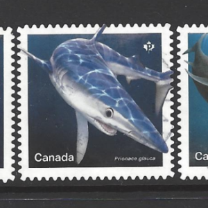 SG 3417-21. Canadian Stamps