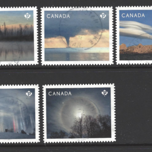 SG 3423-7, Canadian Stamps