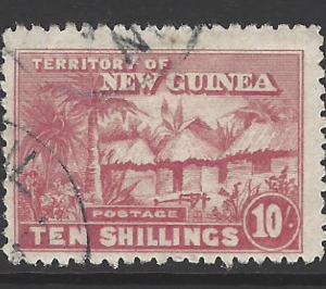 SG 135. New Guinea Stamps