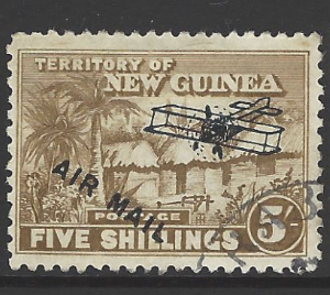 SG 147. New Guinea Stamps